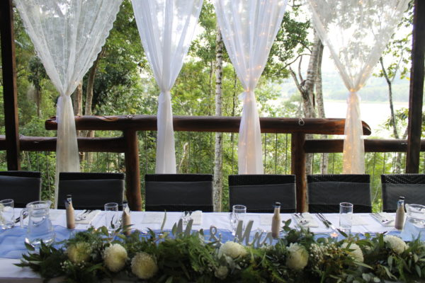 Table Decorations Weddings in Maleny at Secrets on the Lake
