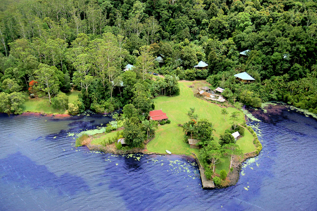 Secrets on the Lake Maleny Accommodation Map