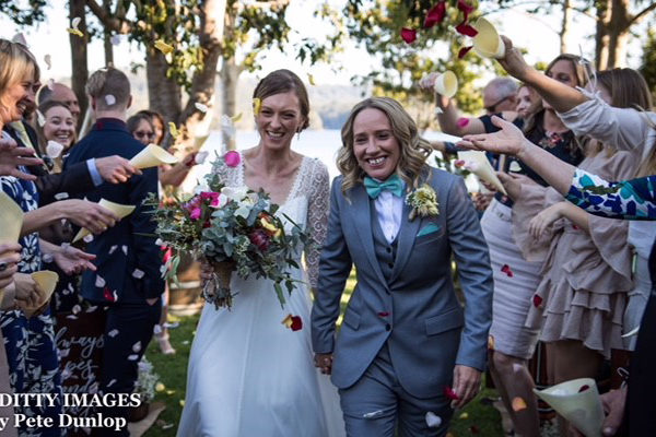 Same Sex Wedding Secrets on the Lake Maleny