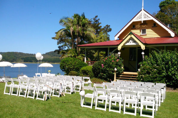 Secrets on the Lake Maleny Accommodation, Wedding and Dining Venue
