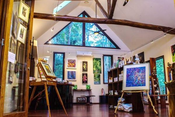 Art Gallery at Secrets on the Lake Maleny